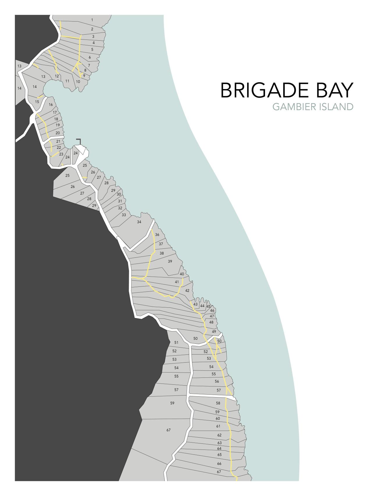 brigade bay map