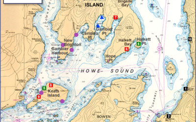 Points Of Interest In Howe Sound