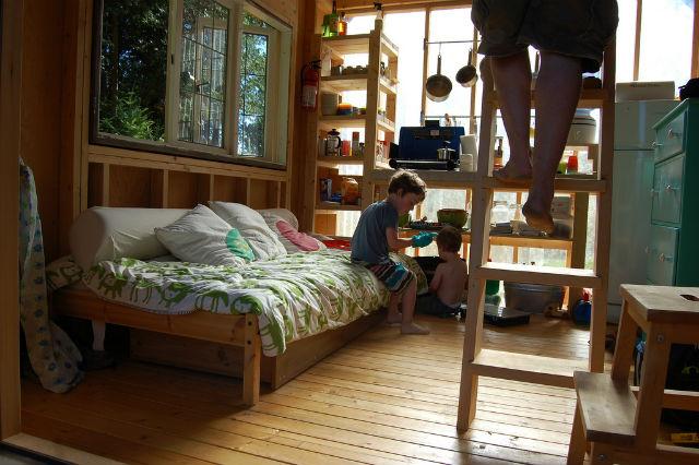 Tiny Gambier Island Cabin